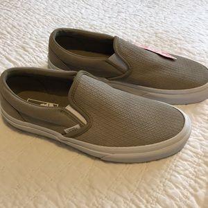 d11c4566e4 Vans Shoes - Vans Classic Slip-On Suede Desert Taupe Emboss 8